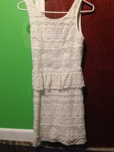 AEO white lace dress in Perry, Georgia