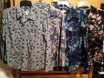 Four front buttons long sleeve shirts in Fort Bragg, North Carolina