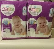 Size 2 Diapers (80 Total) in Alamogordo, New Mexico
