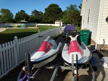 Pair of 92 Yamaha VXR 650 jet skis in Camp Lejeune, North Carolina
