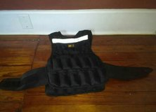 GO FIT ADJUSTABLE WEIGHT VEST 20LBS in Byron, Georgia