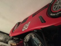 Race car bed frame in Tomball, Texas