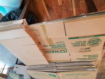 Uhaul Moving Boxes, Dish/Glass packs, paper/bubble wrap in Buckley AFB, Colorado