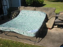 LAY Z BOY  SUEDE COUCH / SLEEPER SOFA in Cherry Point, North Carolina