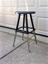 UNIQUE!  ARTIST ADJUSTABLE TALL STOOL in Plainfield, Illinois