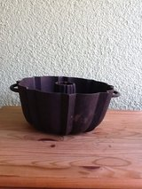Cast Iron Bundt Pan with Handles - 1 in Ramstein, Germany
