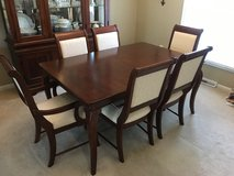kincaid dining room table and china cabinet furniture in New Lenox, Illinois