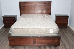 Queen Bedroom Set available with mattress and 2 night stands in CyFair, Texas