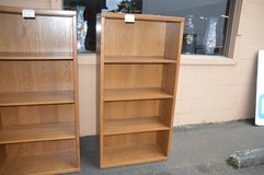Oak Bookcases in Tacoma, Washington