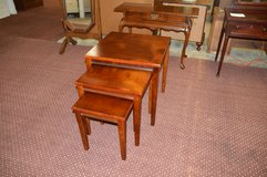 Wood Nesting Tables. in Fort Lewis, Washington