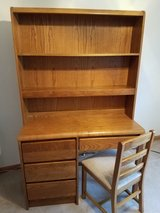 Oak desk in Oswego, Illinois