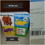 Brown bear book in Vacaville, California
