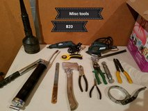 Misc tools in Vacaville, California