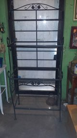 metal plant stand in Bellaire, Texas