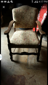 antique chair in Bellaire, Texas