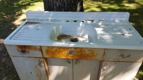 Antique Kitchen Cabinet w/Sink Top in Fort Leonard Wood, Missouri