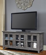 "BRAND NEW! SOLID WOOD 70"" DISTRESSED WOOD TV STAND FOR LED PLASMA LCD CURVE + in Camp Pendleton, California"