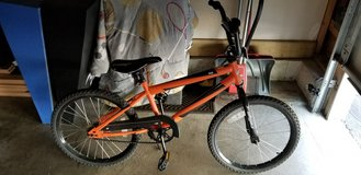 rallye brand boys 18 inch bike barely used LIKE NEW in Bolingbrook, Illinois