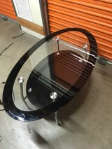 glass coffee table in San Clemente, California