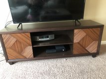 brown wooden tv stand in Columbus, Georgia