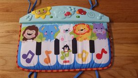 Piano Crib Toy Fisher Price with lights and sound for infant or toddler in Naperville, Illinois