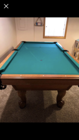 Pool Table in Sandwich, Illinois