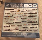WWII Aircraft Puzzle in Naperville, Illinois