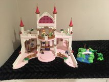 Playmobile castle with accessories in Naperville, Illinois