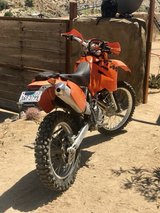 2003 KTM 525 exc in Yucca Valley, California