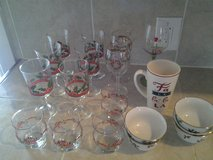 Assortment Christmas Glassware (20 pieces) in Coldspring, Texas