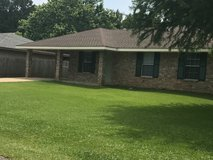 3bedroom HOUSE -1 1/2 bath  newly remodeled Appliances large fenced yard in Rosepine in Fort Polk, Louisiana