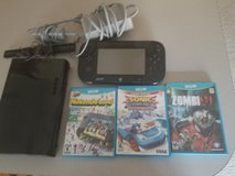 Wii U with games in Fort Polk, Louisiana