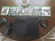 Xbox One with games in Fort Polk, Louisiana