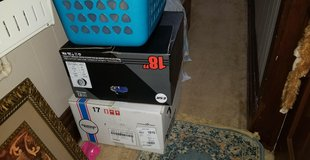 Big boxes of 12-18mons baby girl and boy clothes in Naperville, Illinois