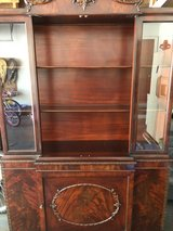 Antique China Cabinet Buffet with Hutch in Algonquin, Illinois