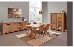 Mico Dining Set in French Oak including delivery in Spangdahlem, Germany