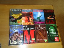 8 sue grafton hardcovers in Glendale Heights, Illinois
