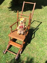 Antique High Chair & Stroller (converts from one to another in seconds). in Wiesbaden, GE