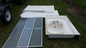 Complete shower and sink in Fort Polk, Louisiana