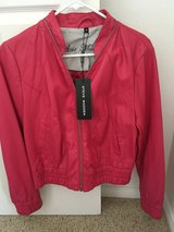 Steve Madden pink faux leather jacket in Yucca Valley, California