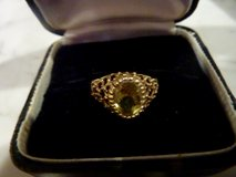 14K Ring with Citrine Stone in Los Angeles, California