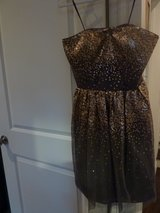 Strapless dressy dress size 6 in Los Angeles, California