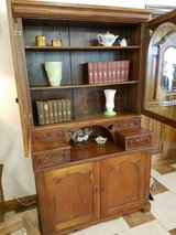 Walnut Display Cabinet/Curio in Fort Leonard Wood, Missouri