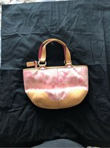 SMALL PINK COACH PURSE in Camp Lejeune, North Carolina