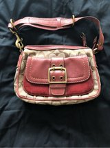 SMALL COACH PURSE, ROSE in Camp Lejeune, North Carolina