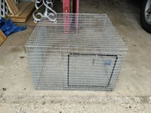 GALVANIZED STEEL ANIMAL cage in Joliet, Illinois