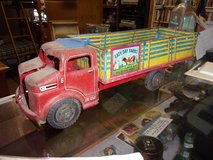 Vintage Lazy Day Farms Stock Truck in Fort Riley, Kansas