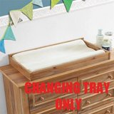 Macy Dresser Topper Changing Table (Natural Rustic) - NEW! in Shorewood, Illinois