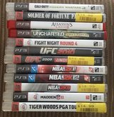 Lot Of 12 PS3 Games, EUC Make Offer! in Kankakee, Illinois