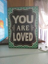 You Are Loved Wooden Box Picture in Camp Lejeune, North Carolina